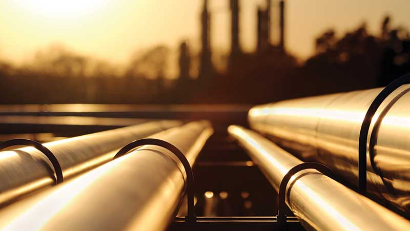 Install Pipelines for Oil Produced from Umm Naqa Oilfield