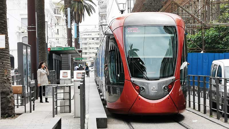 Casablanca Tramway T3 and T4