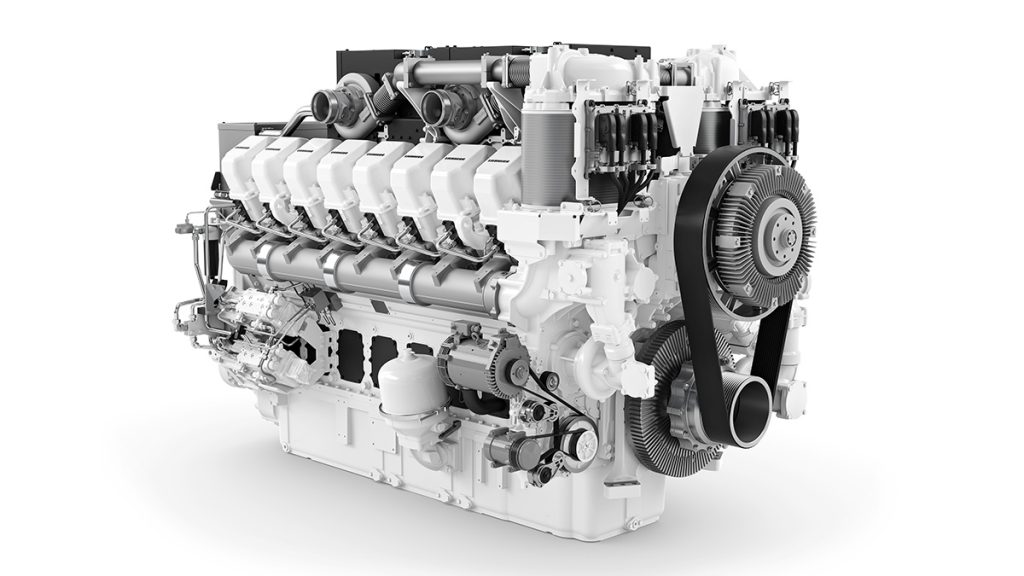 Liebherr D9816 engine