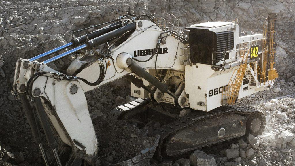 R 9600, the next generation of Liebherr mining excavators.